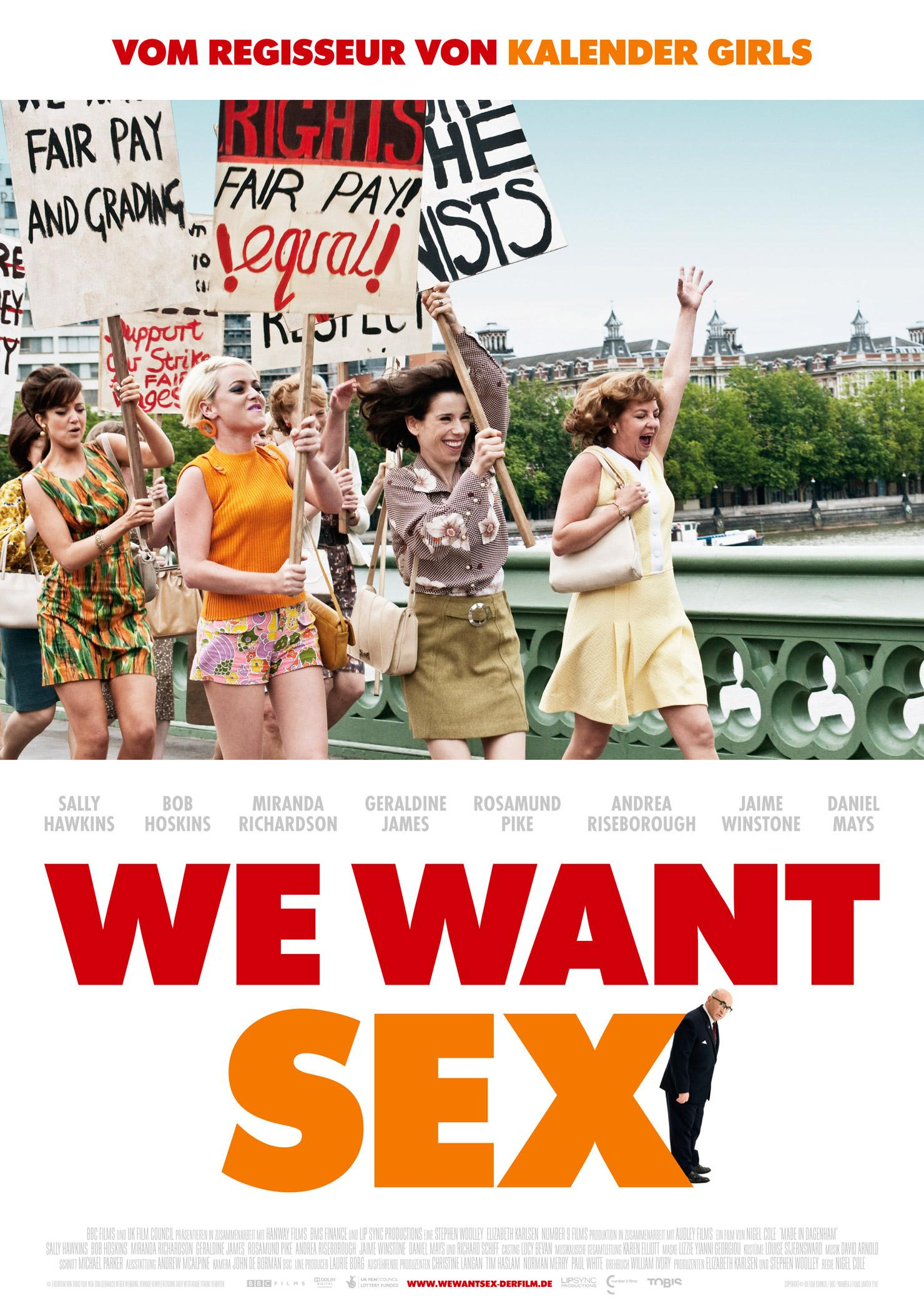 We want Sex (Poster)