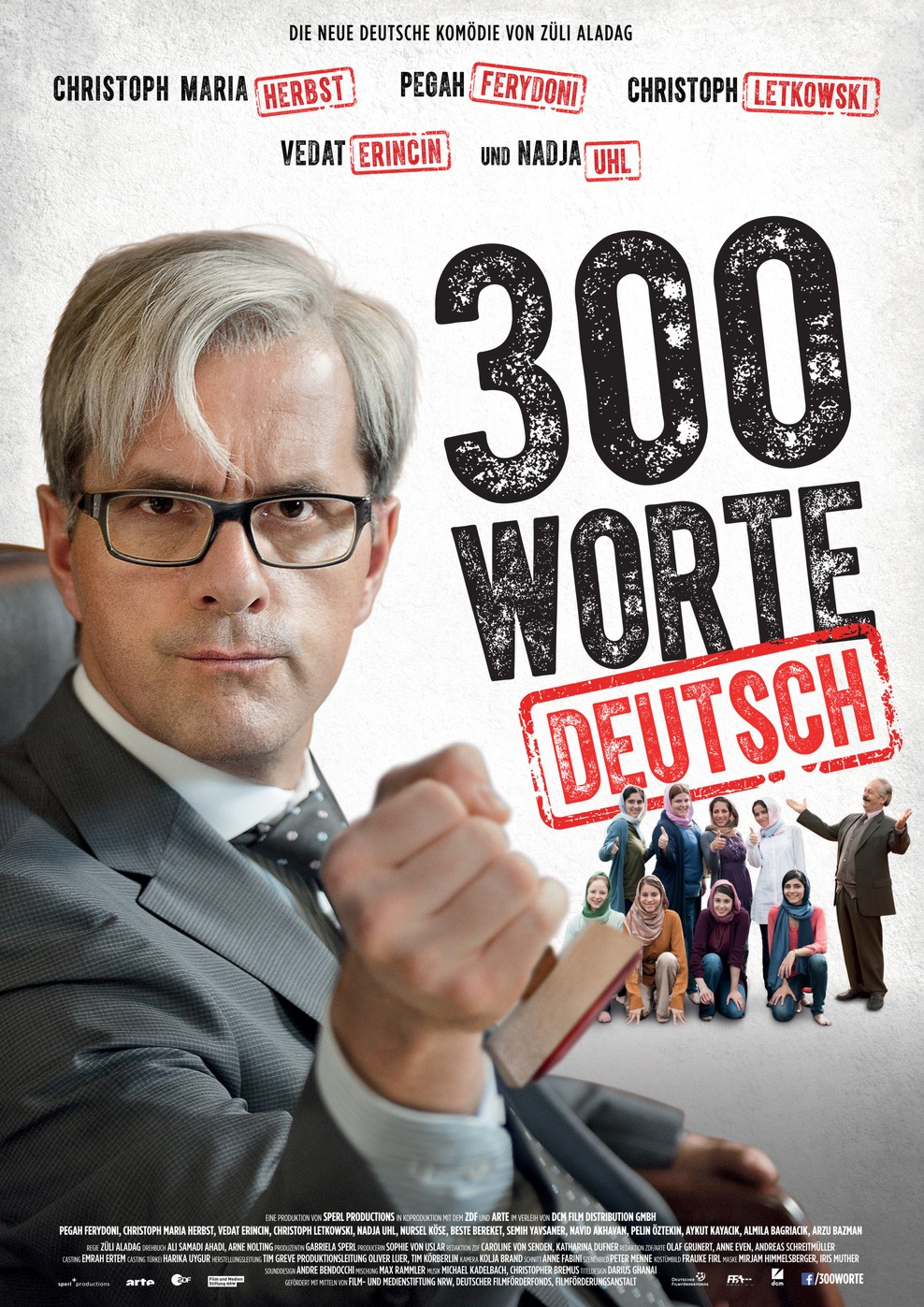 300 Worte Deutsch (Poster)