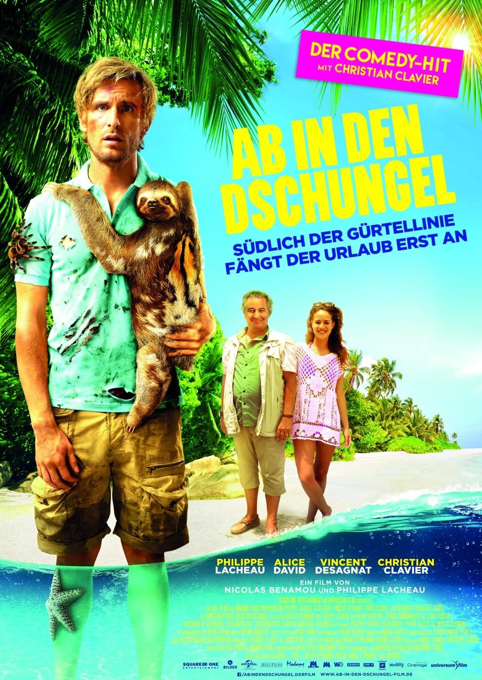 Ab in den Dschungel (Poster)