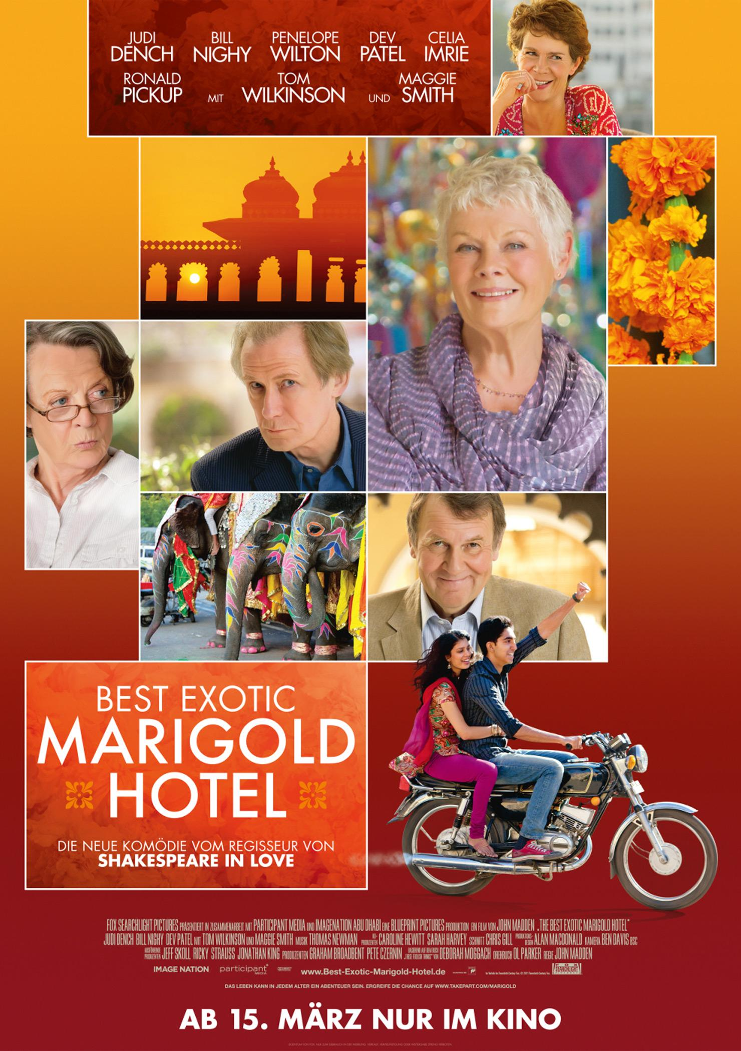 Best Exotic Marigold Hotel (Poster)