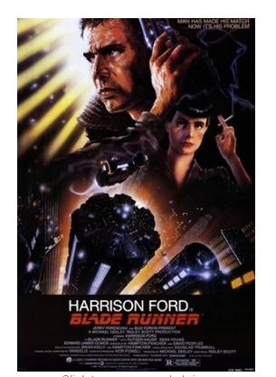 Blade Runner (Poster)