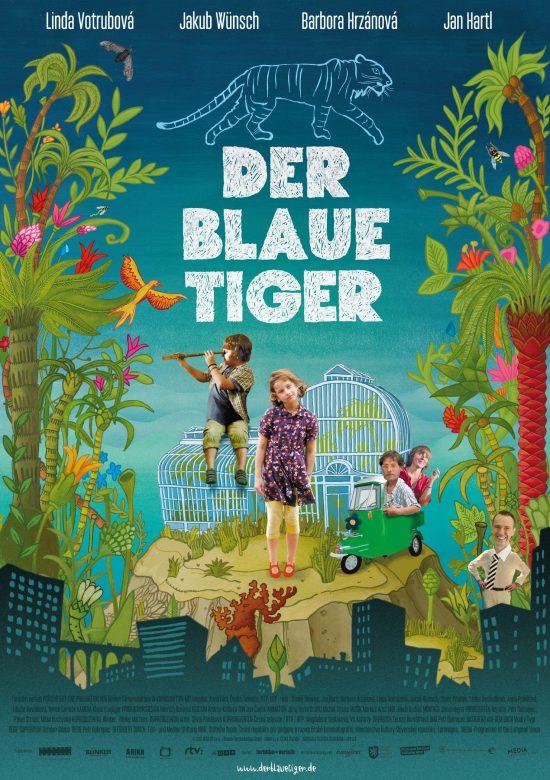 Der blaue Tiger (Poster)