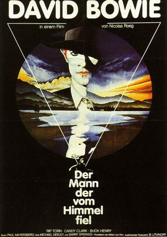 Der Mann, der vom Himmel fiel (Poster)