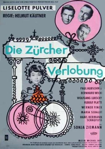 Die Zürcher Verlobung (Poster)