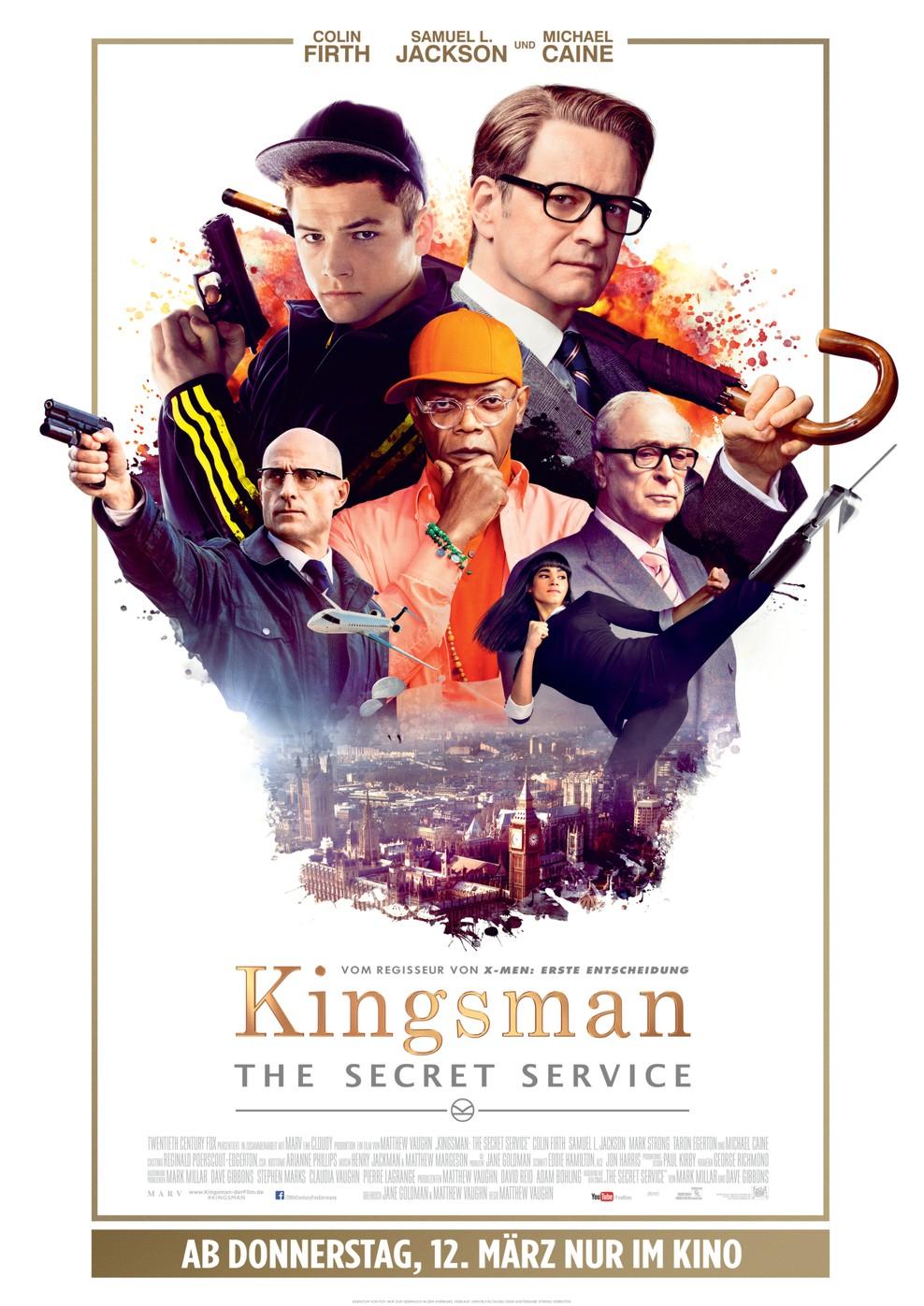 Kingsman - The Secret Service (Poster)