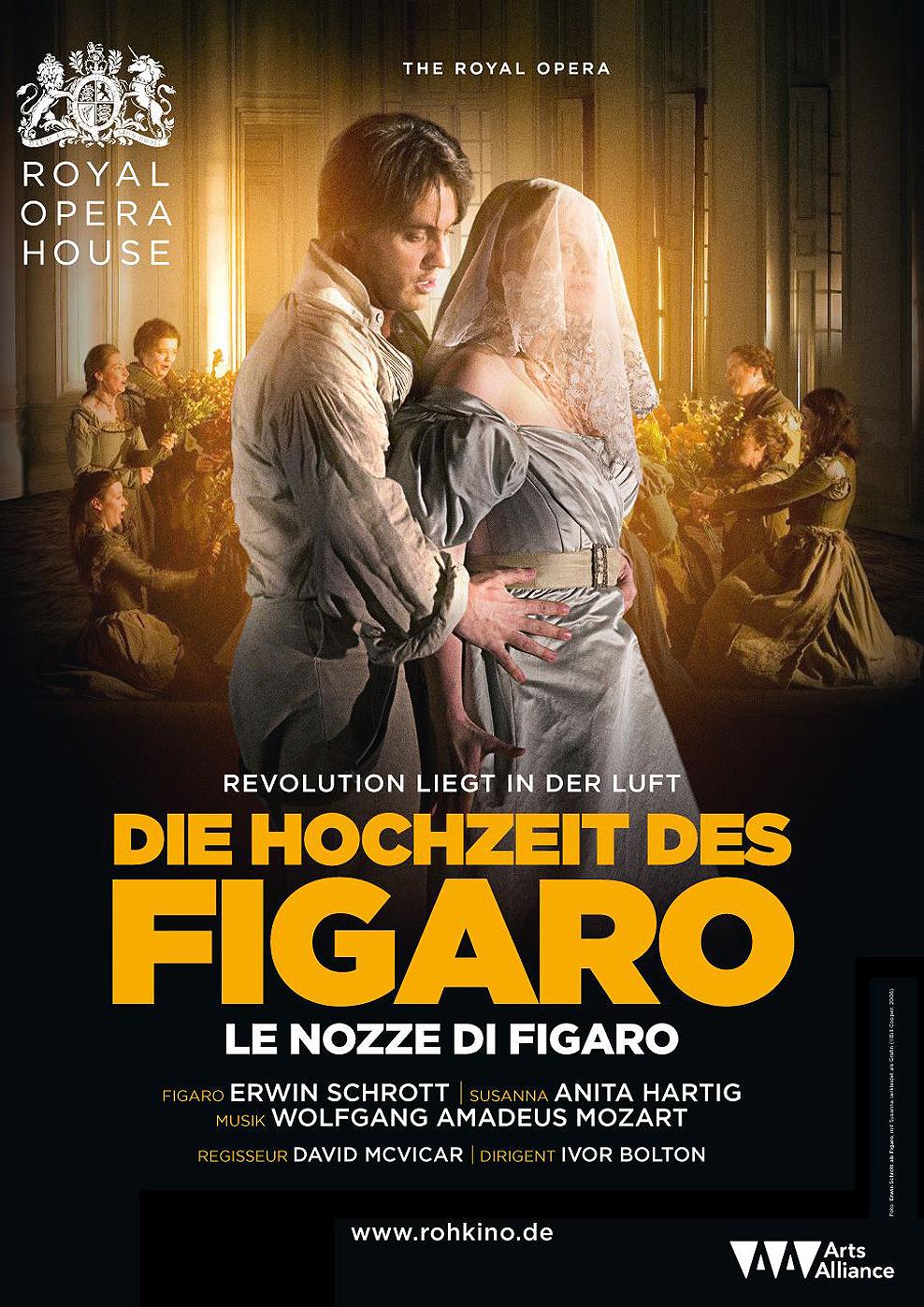Royal Opera House 2015/16: Die Hochzeit des Figaro - Le Nozze di Figaro (Poster)