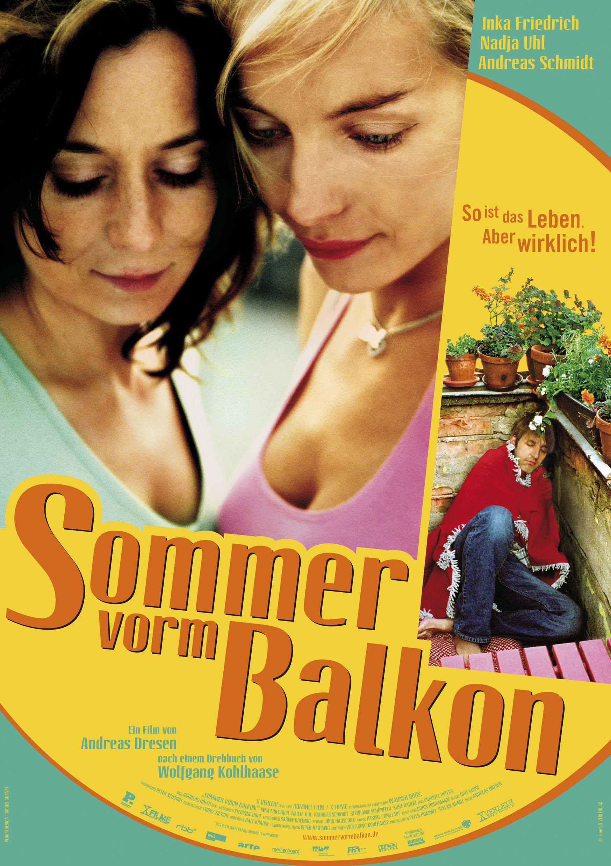 Sommer vorm Balkon (Poster)