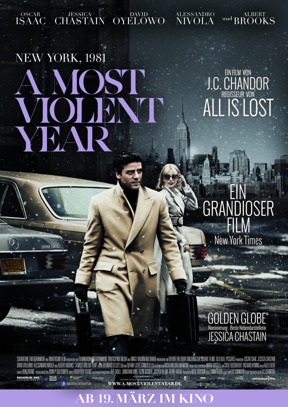 A Most Violent Year (Poster)