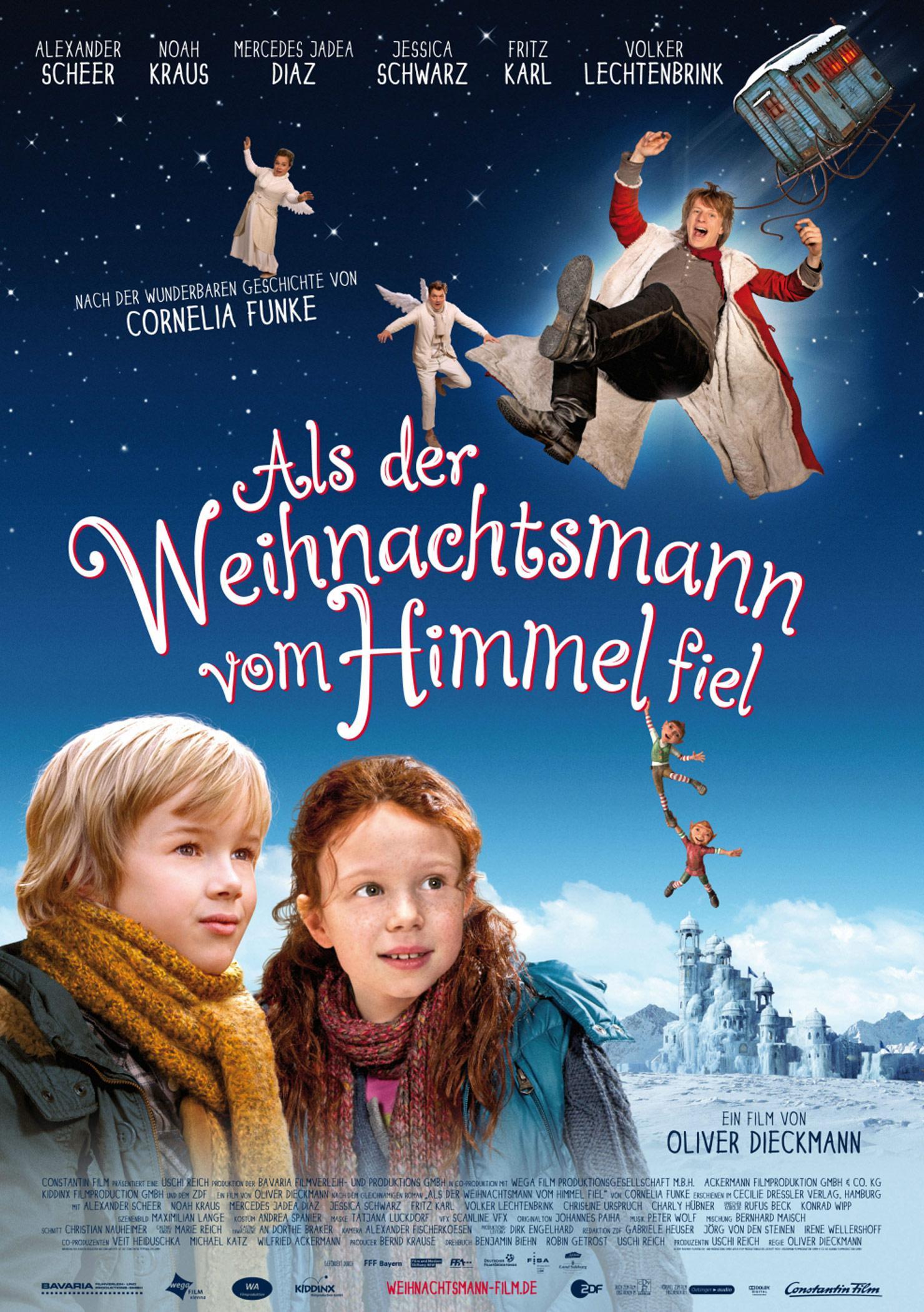 Als der Weihnachtsmann vom Himmel fiel (Poster)
