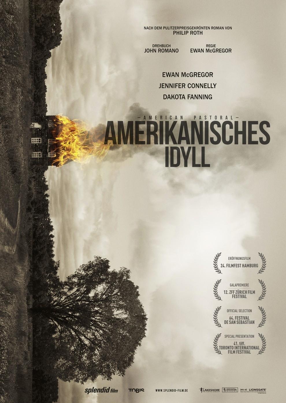 Amerikanisches Idyll (Poster)