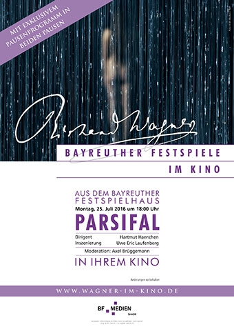 Bayreuther Festspiele 2016: Parsifal (Poster)