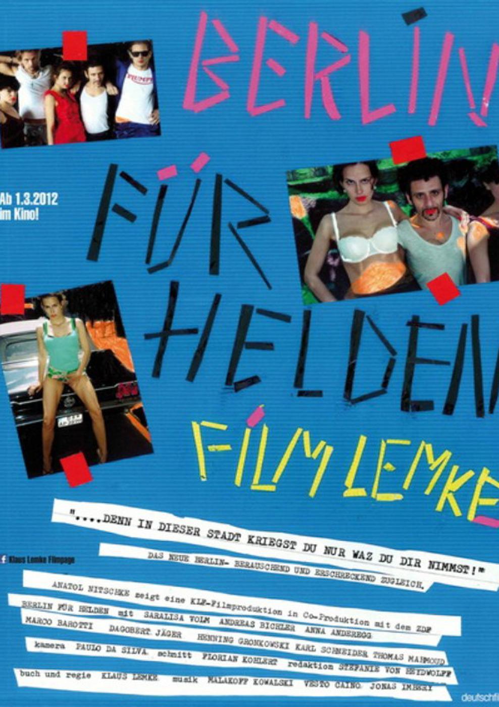 Berlin für Helden (Poster)