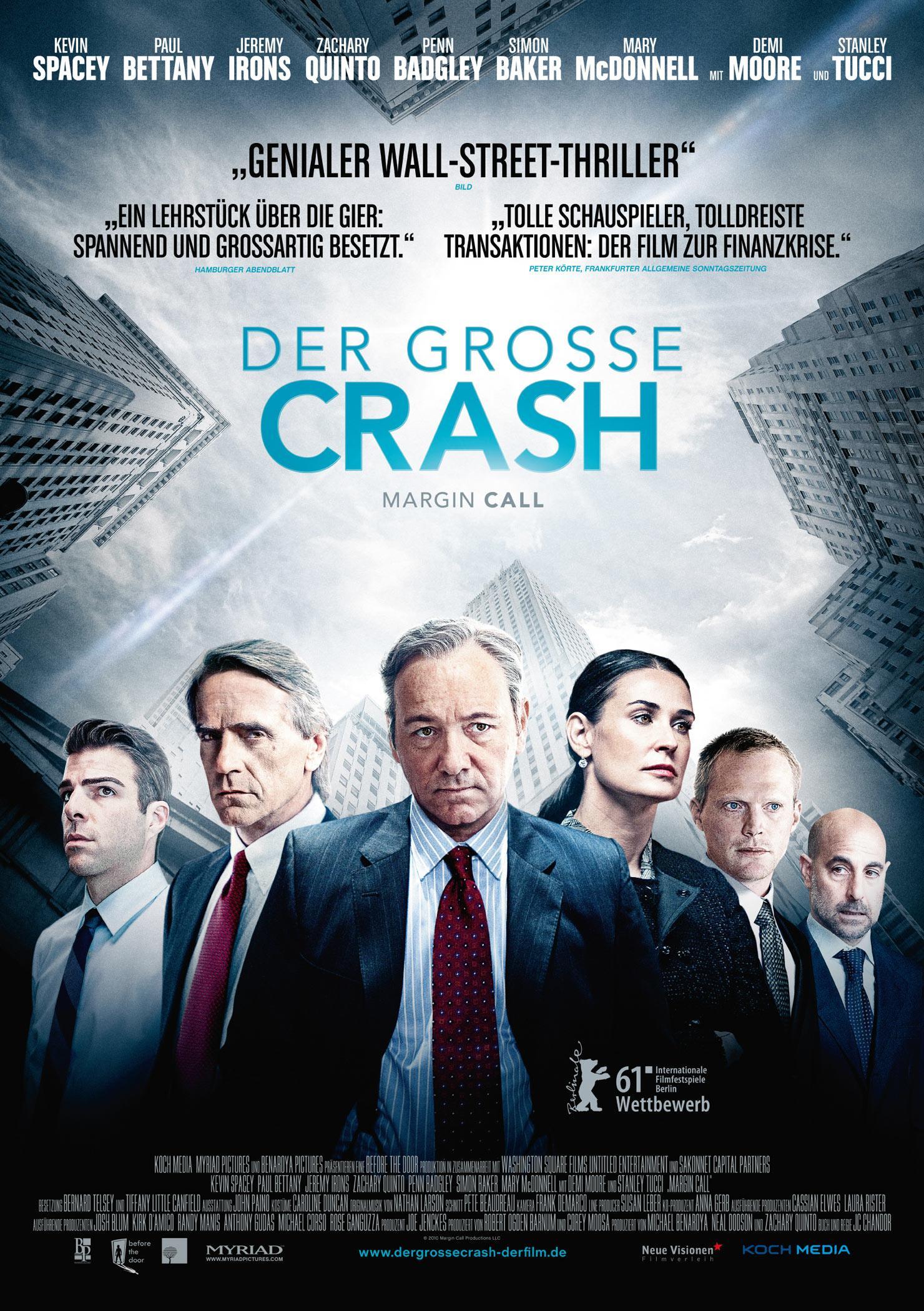 Der große Crash - Margin Call (Poster)