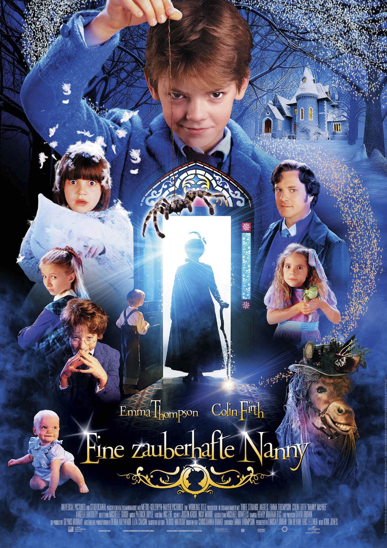 Eine zauberhafte Nanny (Poster)