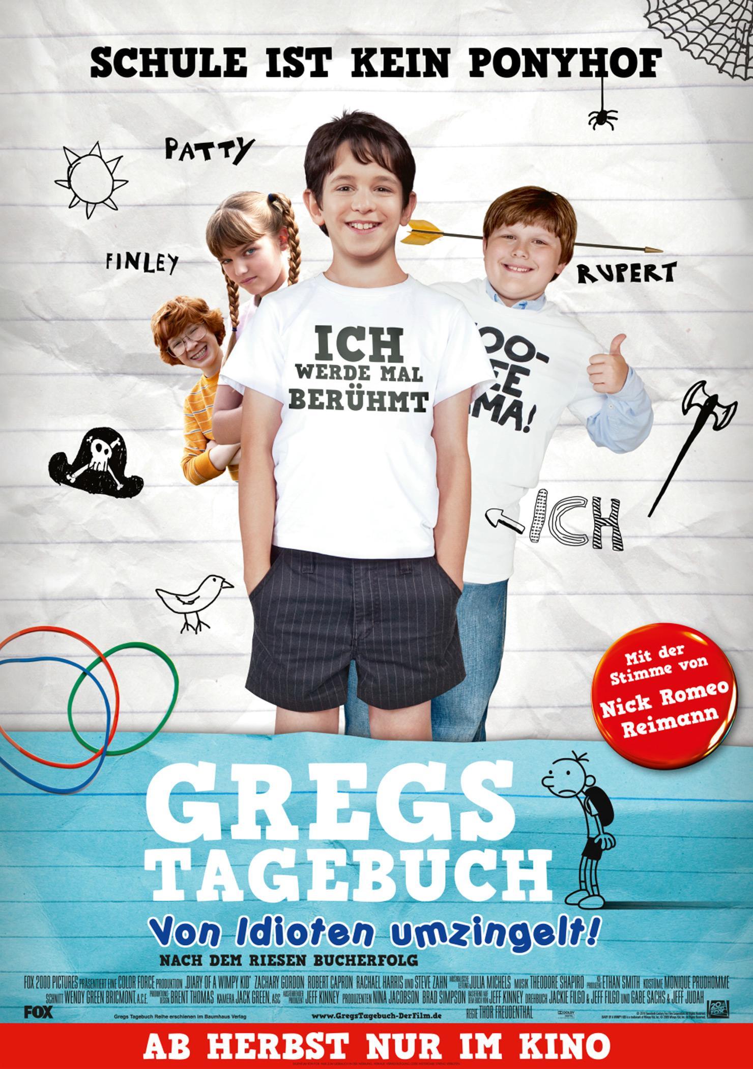 Gregs Tagebuch - Von Idioten umzingelt! (Poster)