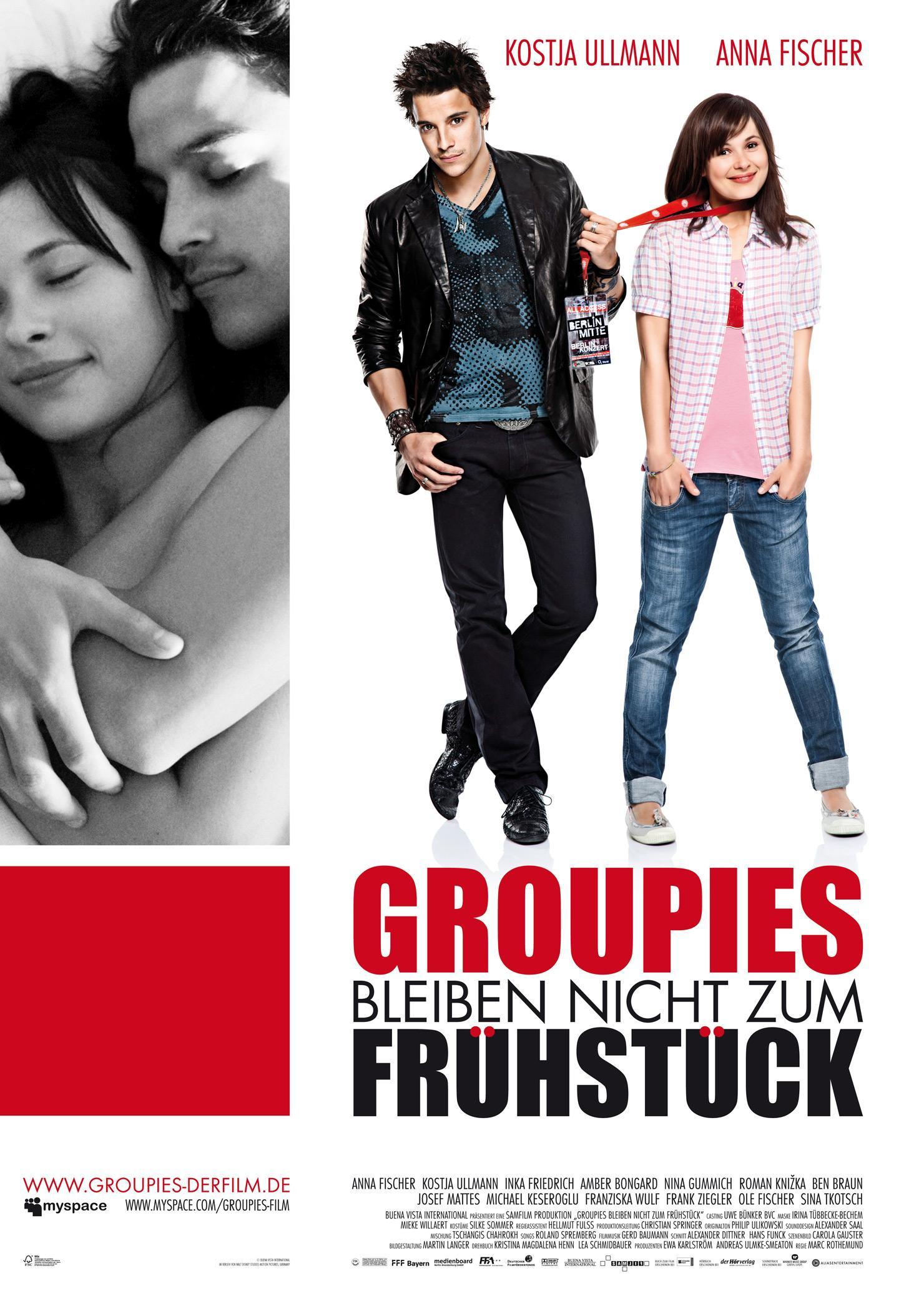 Groupies bleiben nicht zum Frühstück (Poster)
