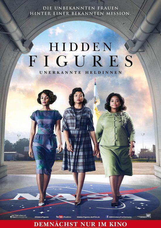 Hidden Figures - Unbekannte Heldinnen (Poster)