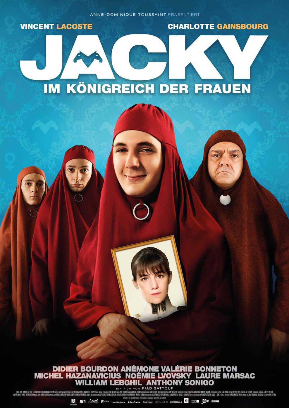 Jacky im Königreich der Frauen (Poster)