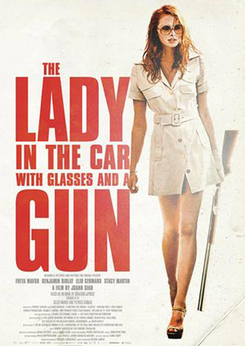 The Lady in the Car with Glasses and a Gun (Poster)