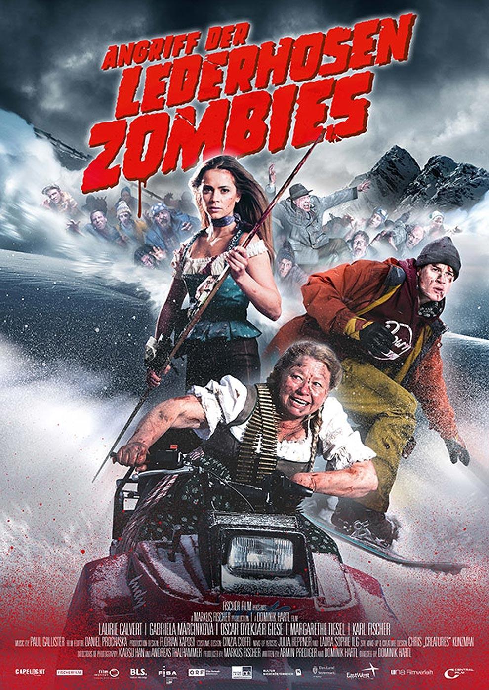 Angriff der Lederhosen Zombies (Poster)