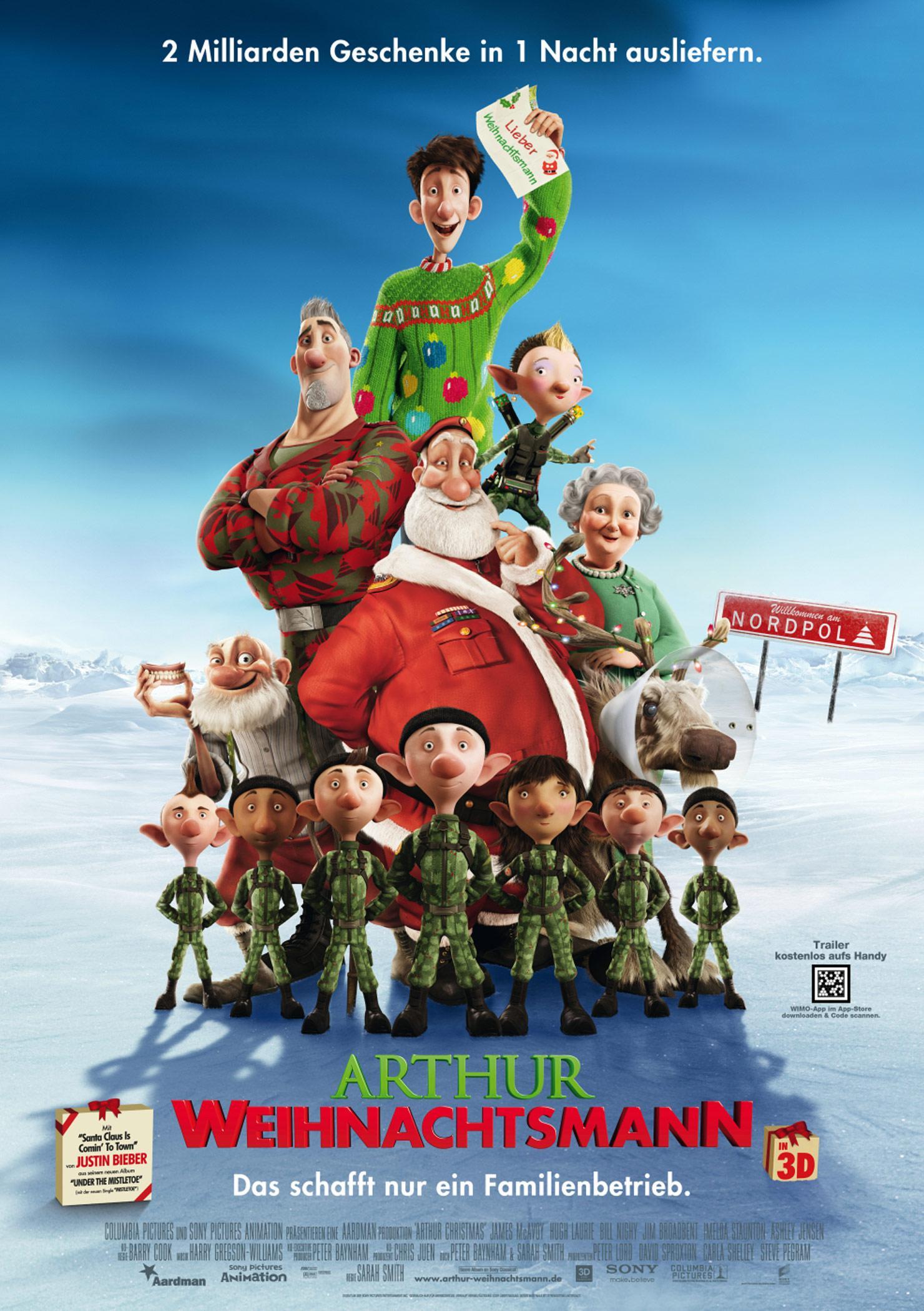 Arthur Weihnachtsmann (Poster)
