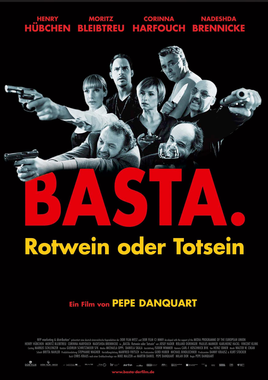 Basta. Rotwein oder Totsein (Poster)