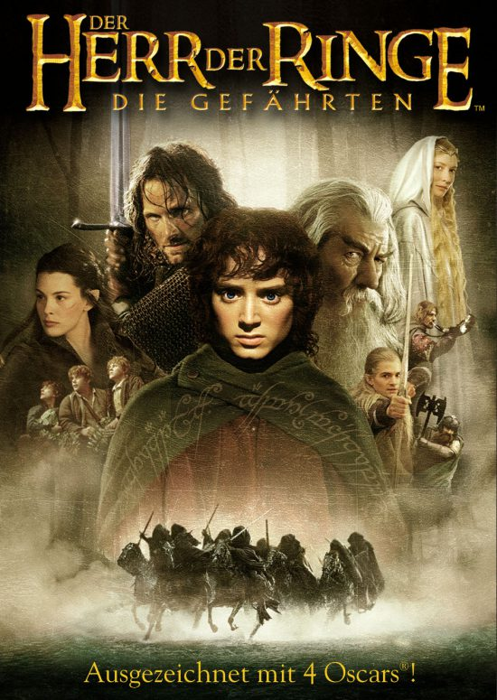 Der Herr der Ringe - Die Gefährten (Poster)