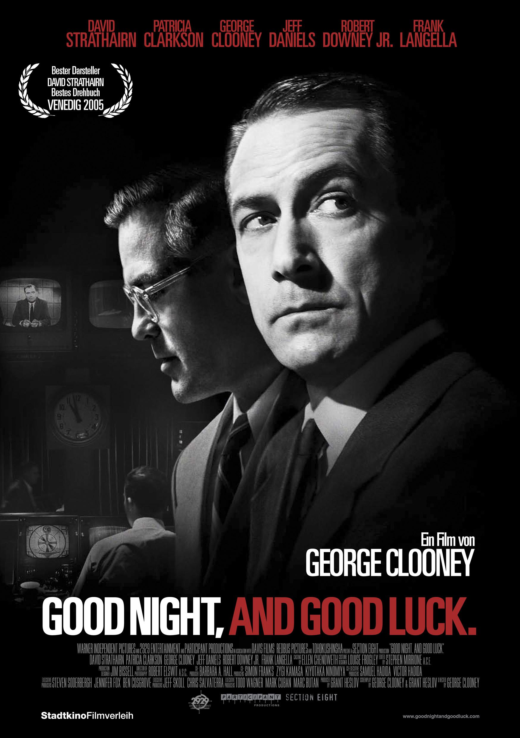 Good Night, and Good Luck (Poster)