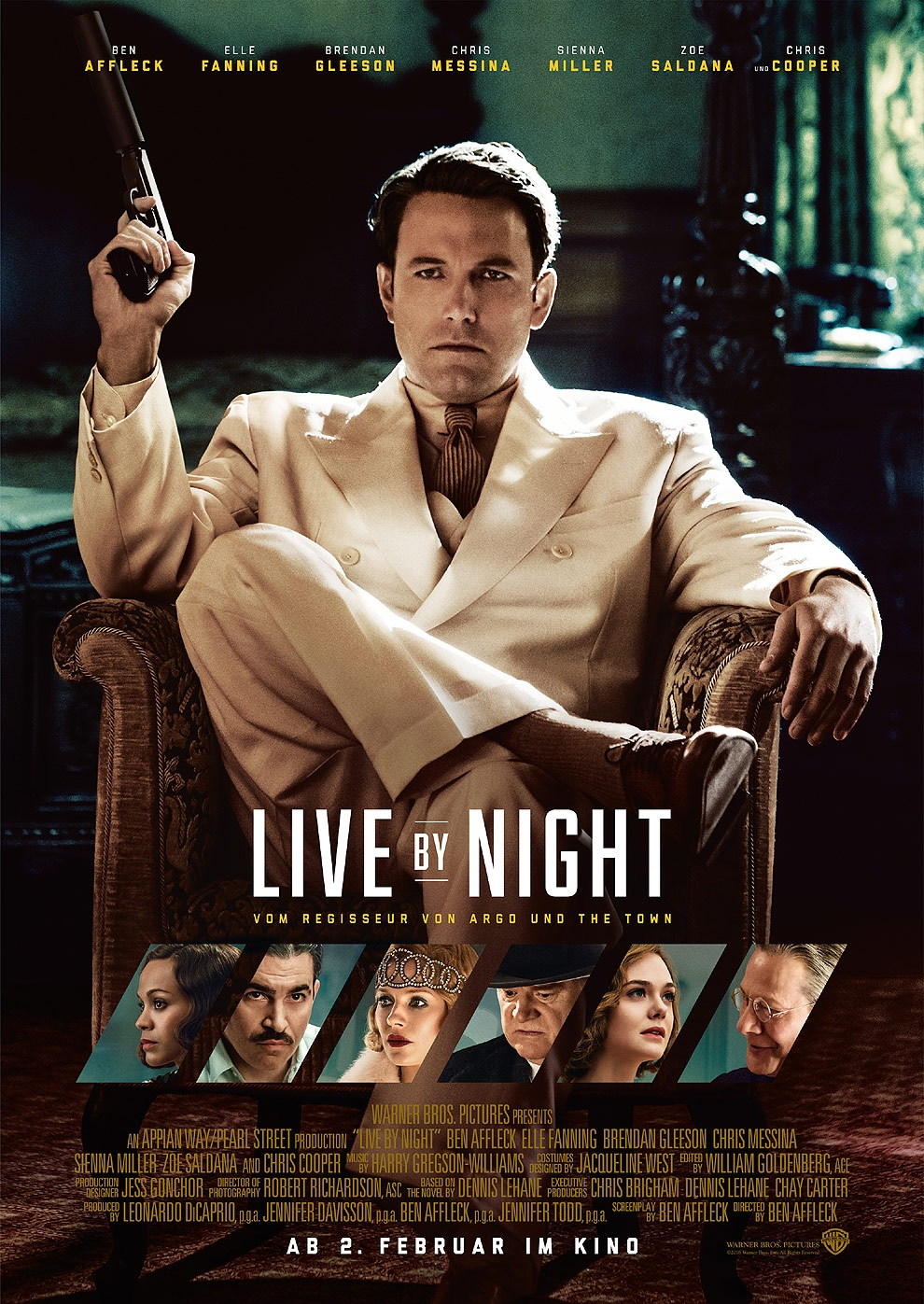 Live By Night (Poster)
