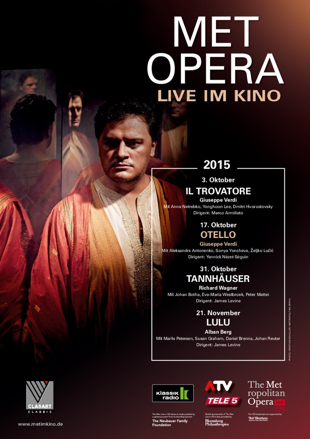 Met Opera 2015/16: Otello (Verdi) (Poster)