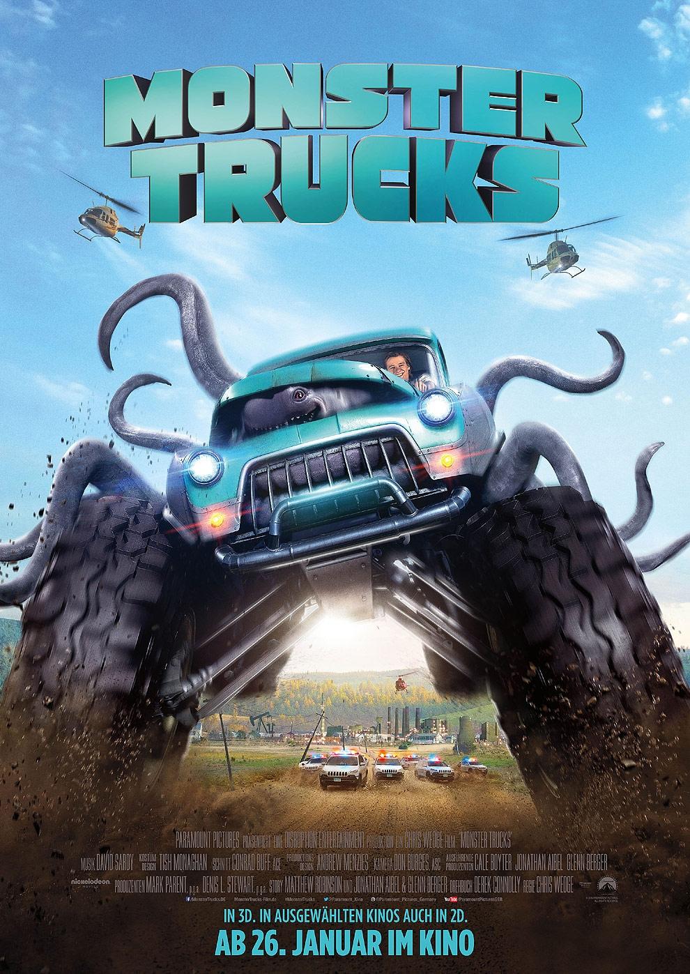 Monster Trucks (Poster)