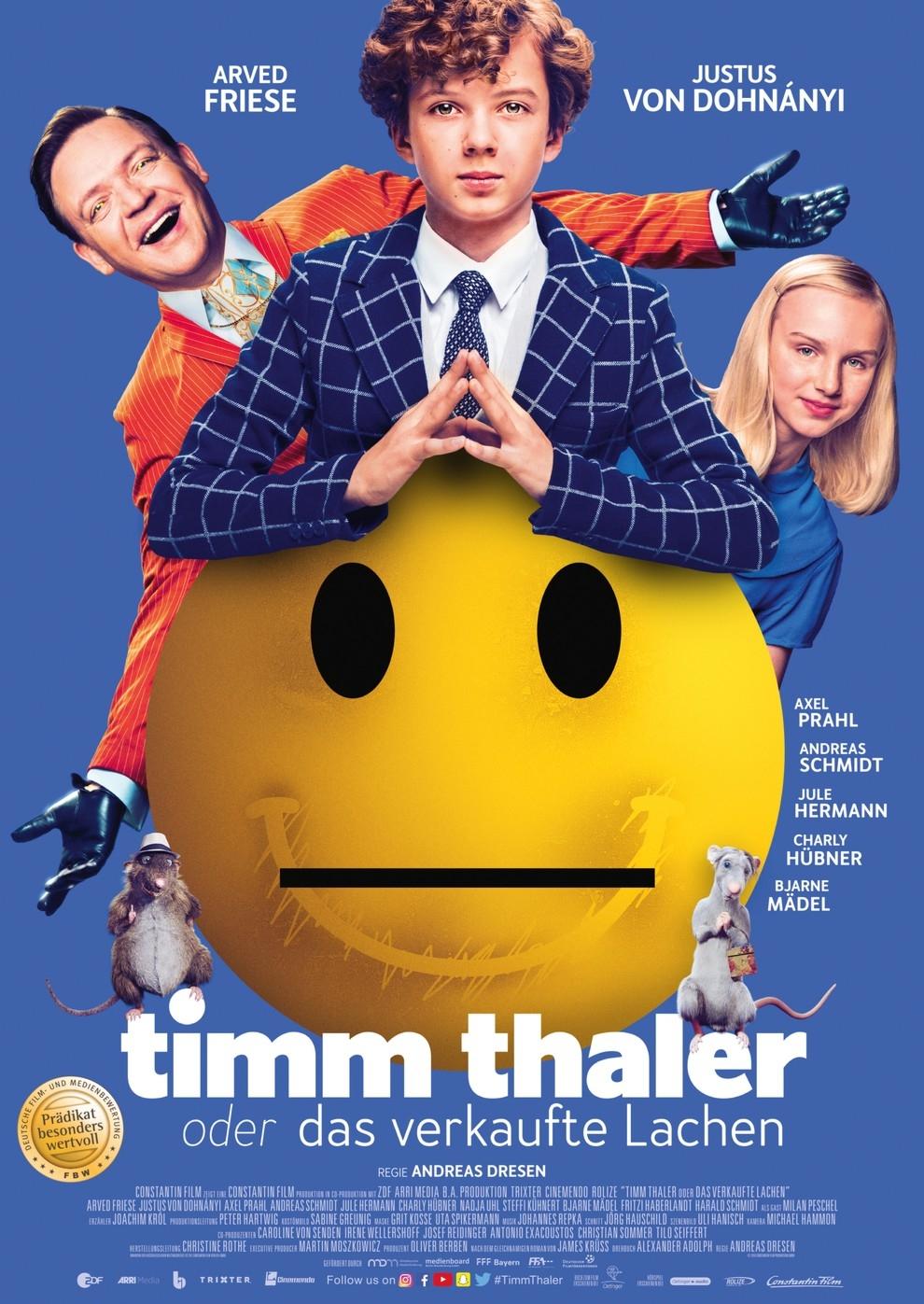 Timm Thaler oder Das verkaufte Lachen (Poster)