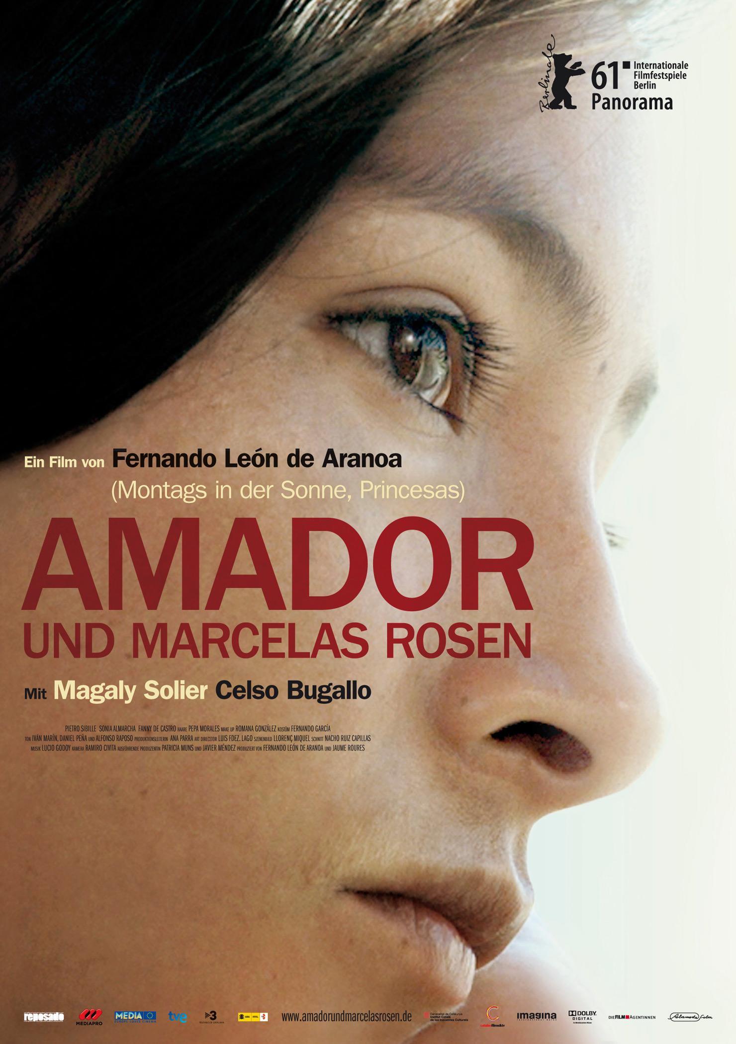 Amador und Marcelas Rosen (Poster)