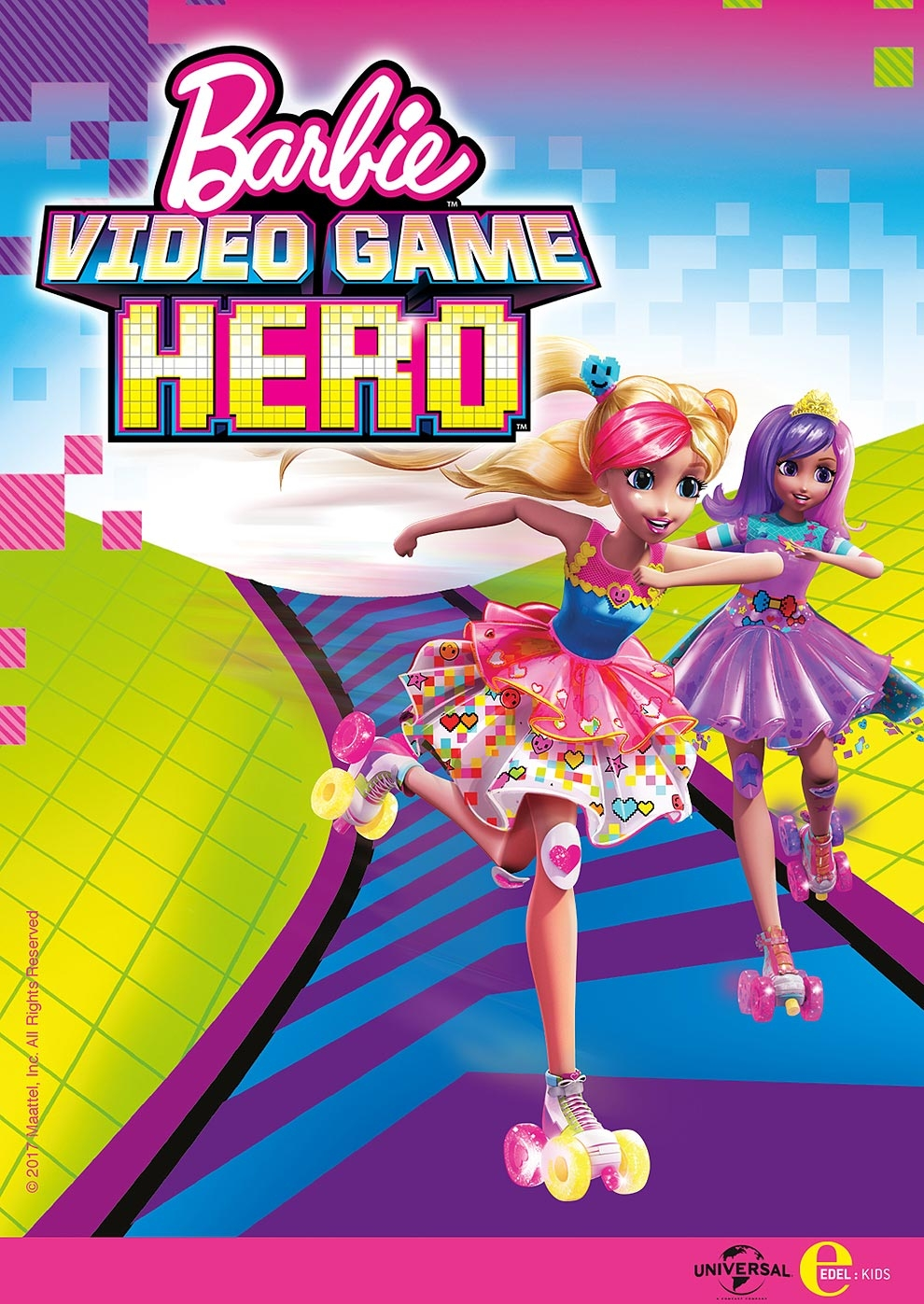 Barbie - Die Videospiel-Heldin (Poster)