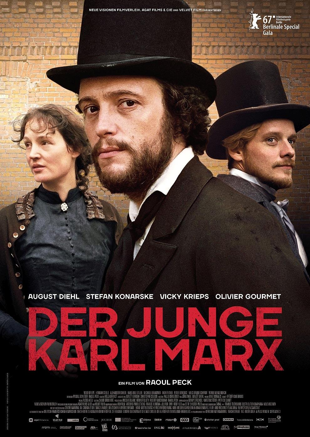 Der junge Karl Marx (Poster)