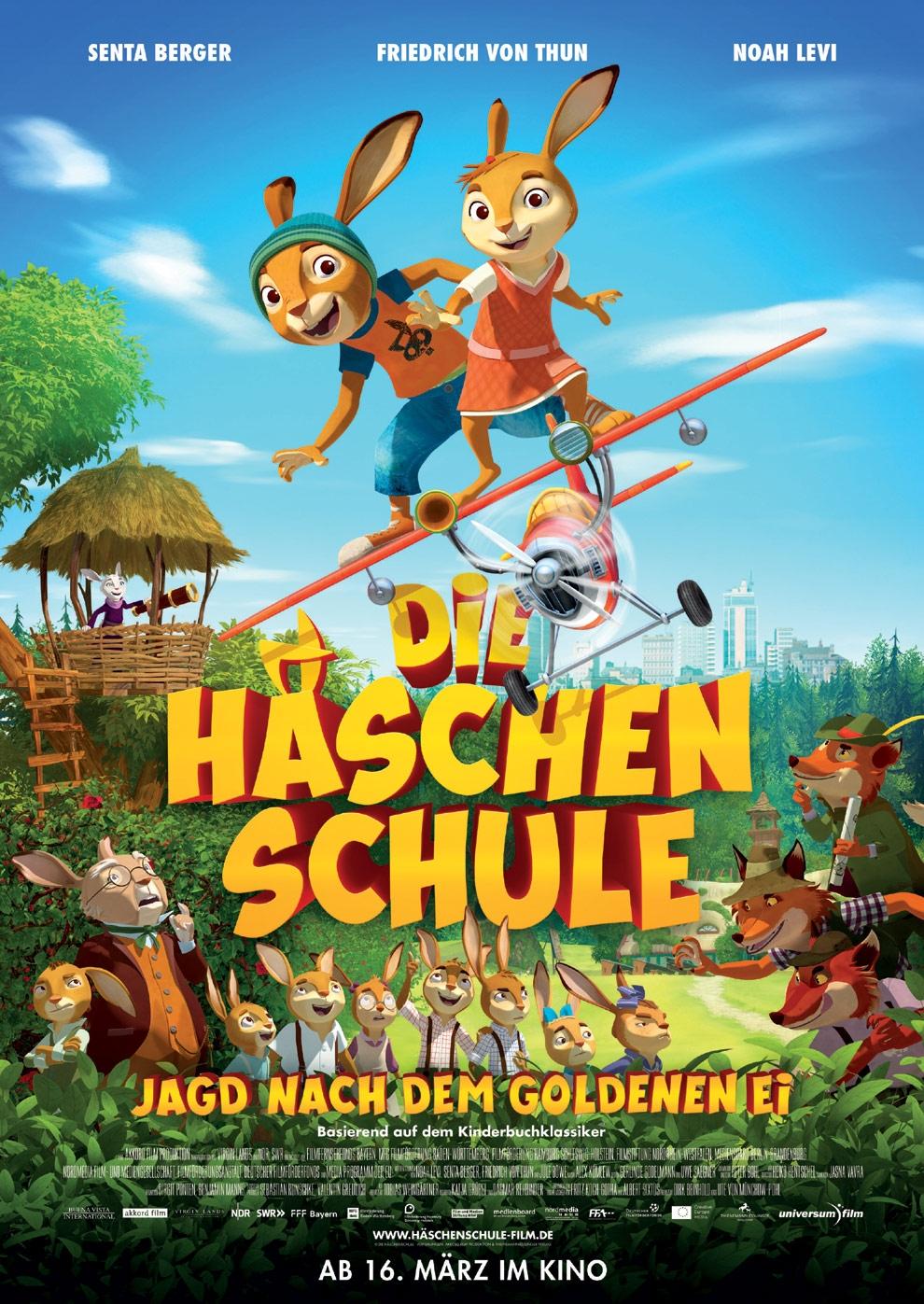 Die Häschenschule - Jagd nach dem goldenen Ei (Poster)
