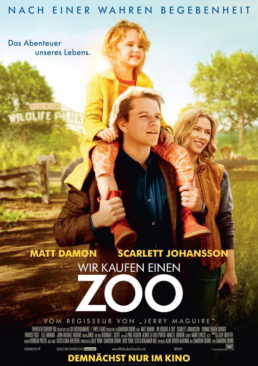 Wir kaufen einen Zoo (Poster)