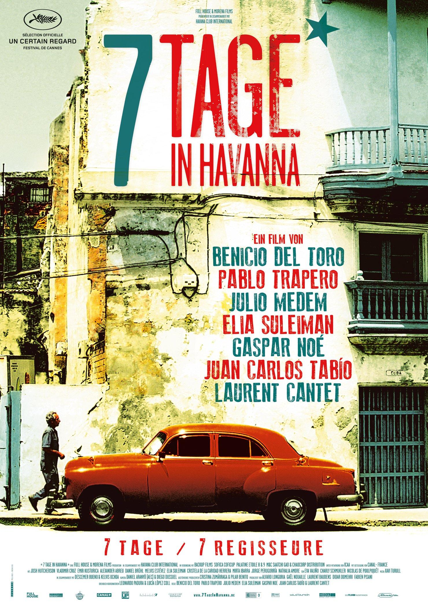 7 Tage in Havanna (Poster)