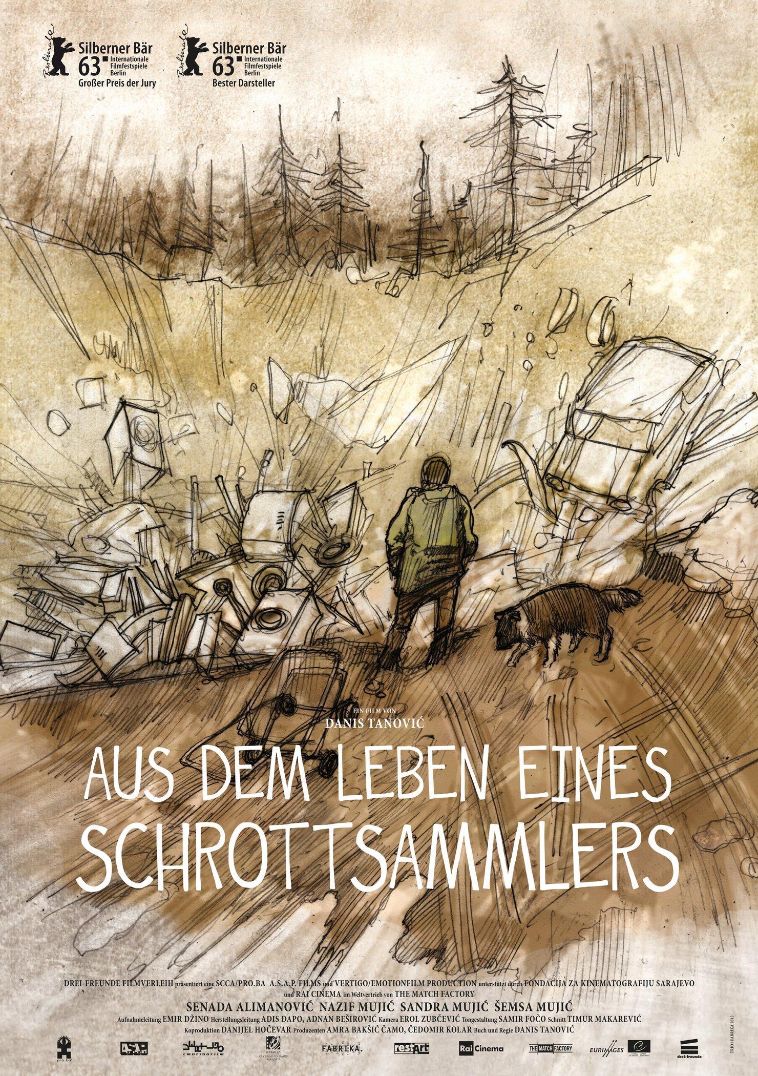 Aus dem Leben eines Schrottsammlers (Poster)