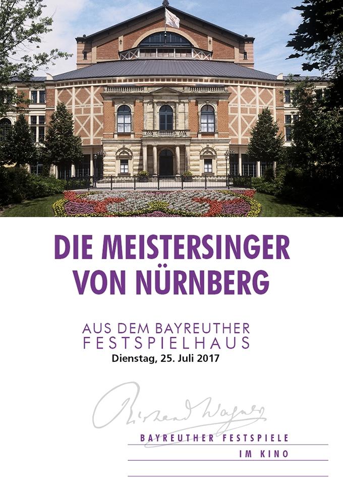 Bayreuther Festspiele 2017: Die Meistersinger von Nürnberg (Poster)