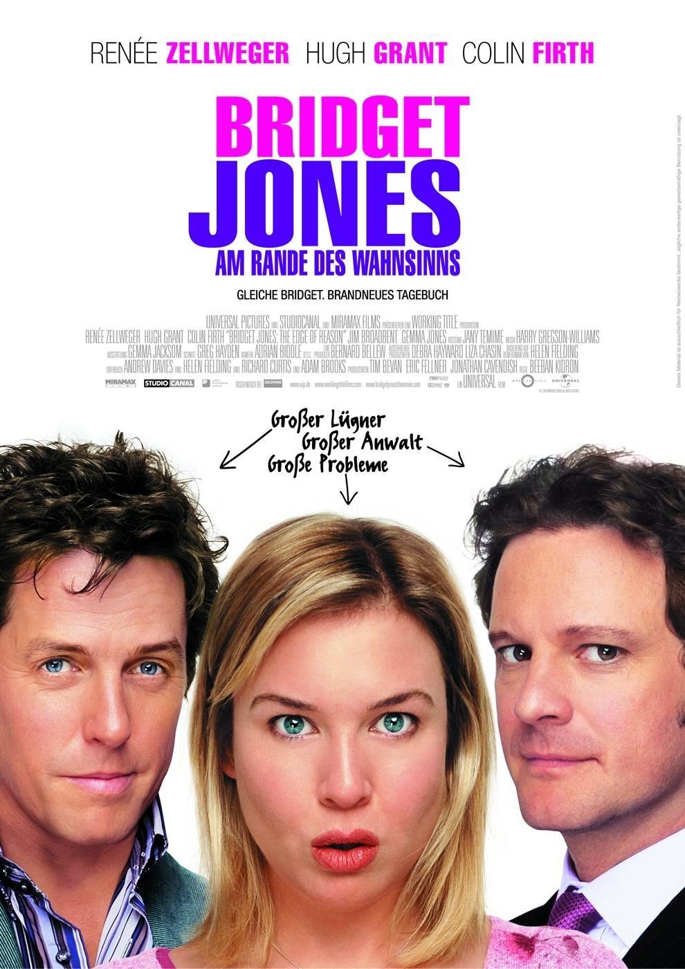 Bridget Jones - Am Rande des Wahnsinns (Poster)