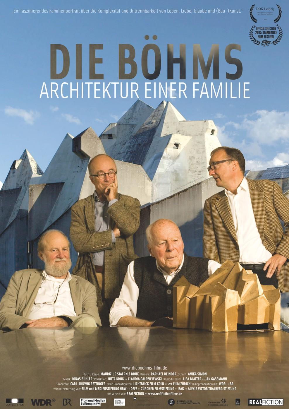 Die Böhms - Architektur einer Familie (Poster)