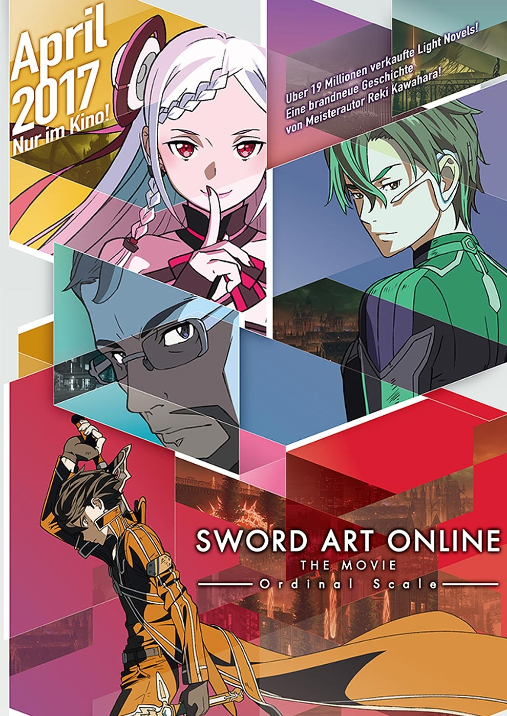 Sword Art Online The Movie Ordinal Scale Poster