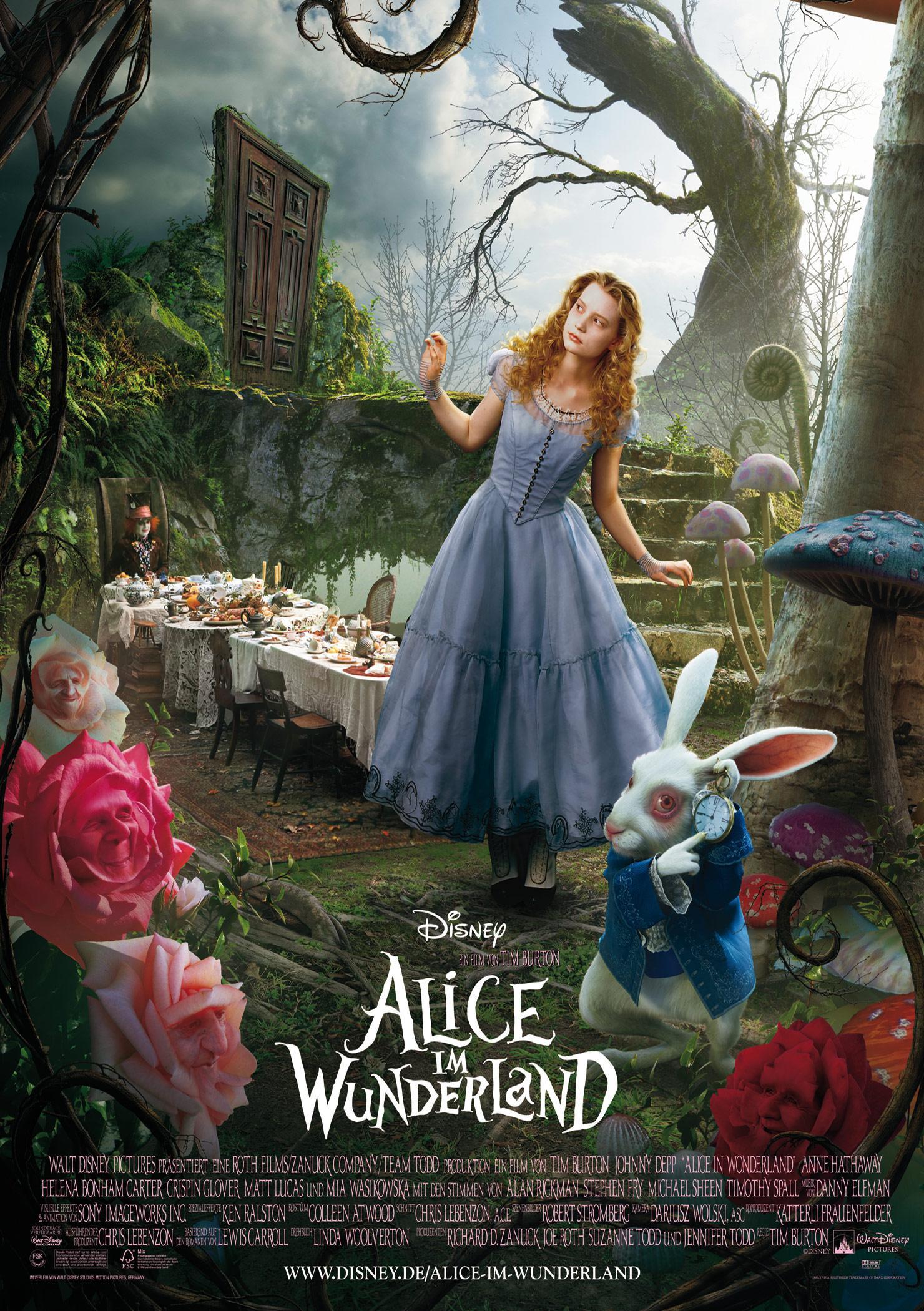 Alice im Wunderland (Poster)