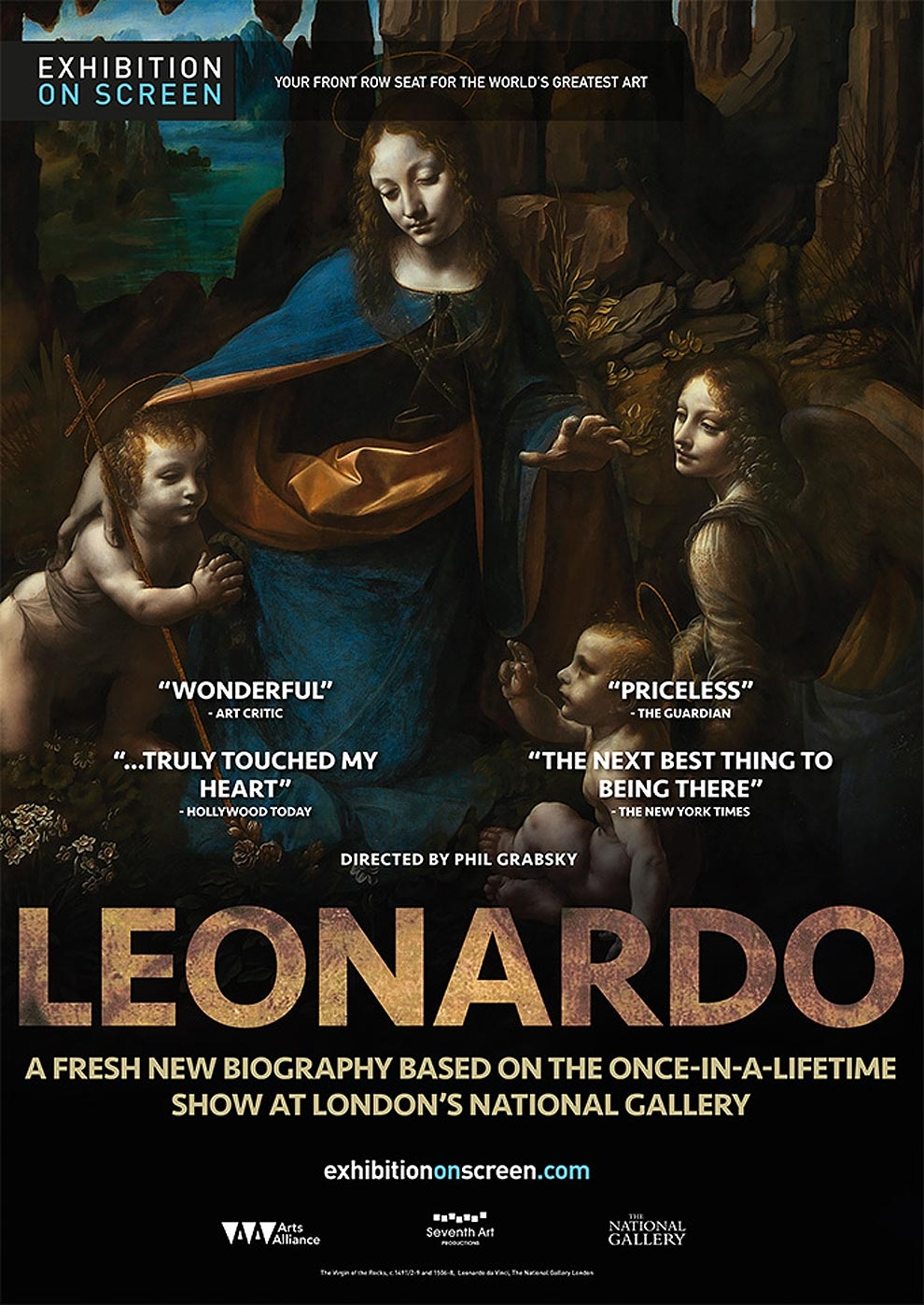 Exhibition on Screen: Leonardo (2012) (Poster)