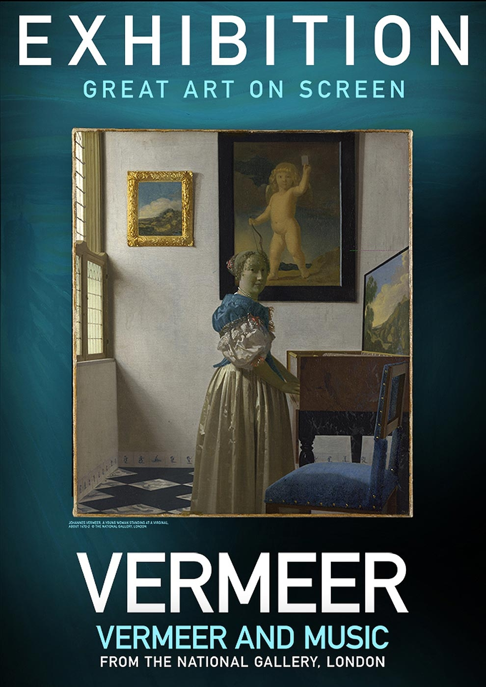 Exhibition on Screen: Vermeer und Musik (Poster)