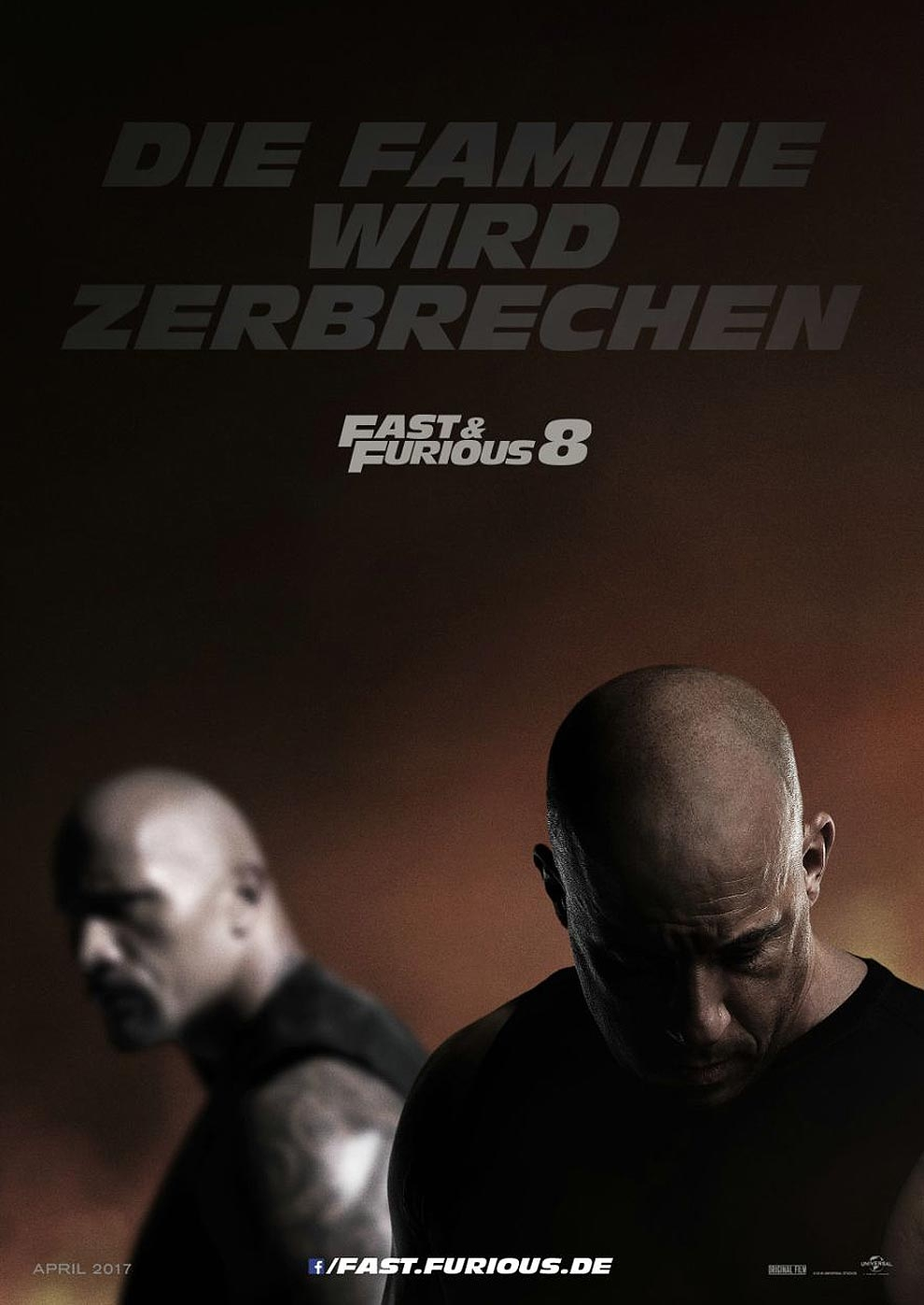 Fast & Furious 8 (Poster)