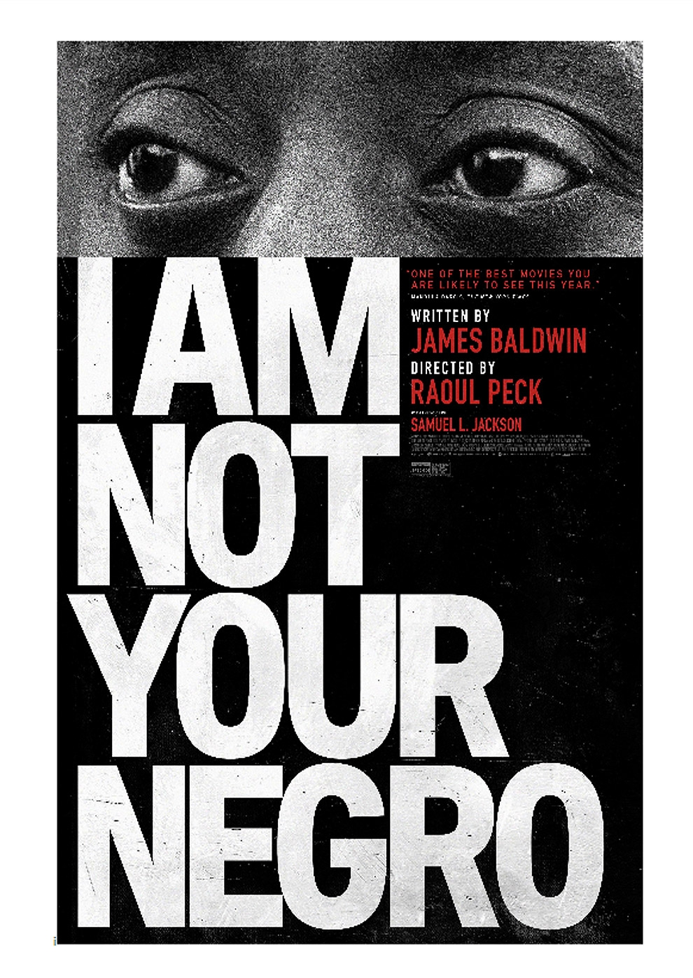 I Am Not Your Negro (Poster)
