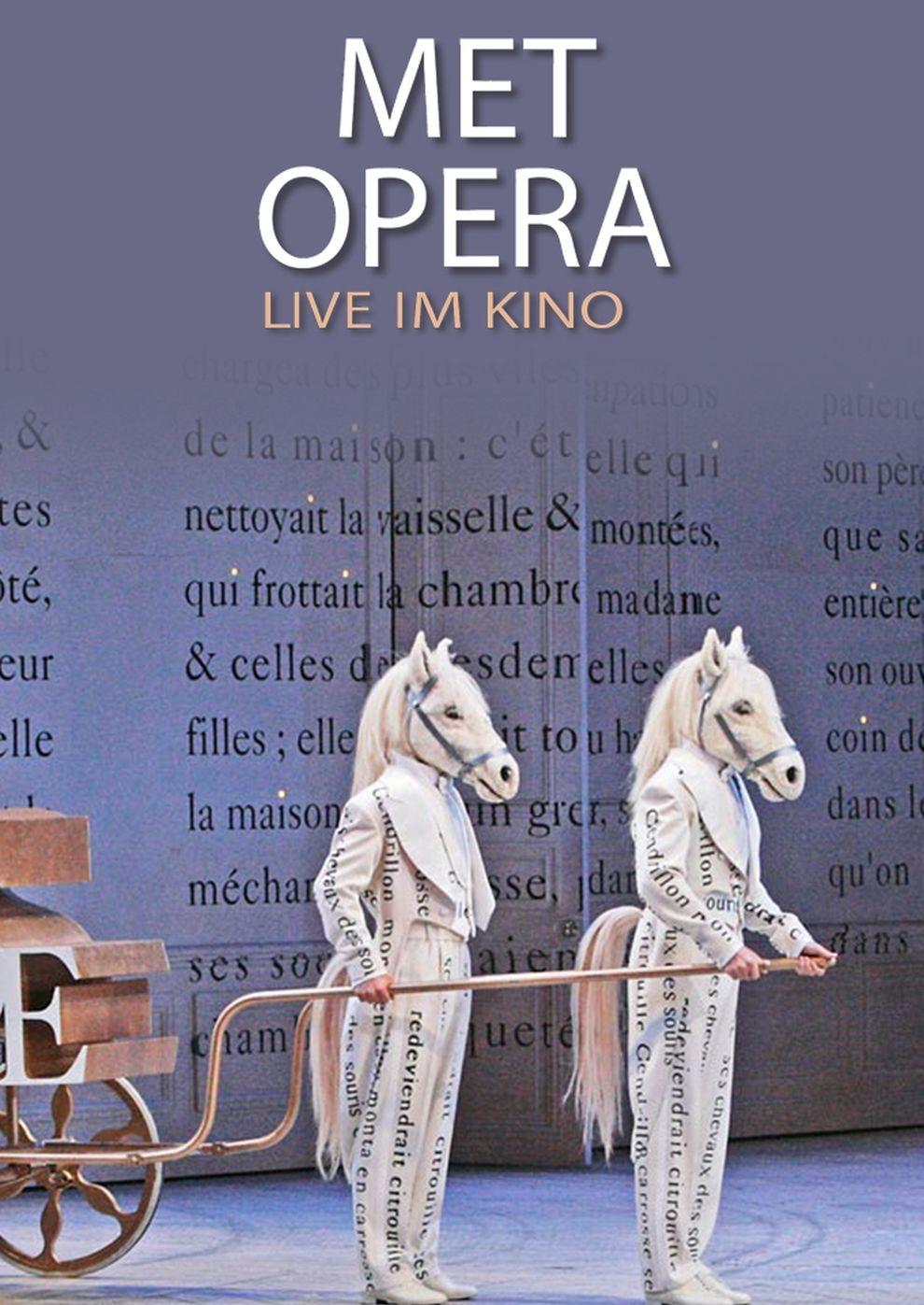 Met Opera 2017/18: Cendrillon (Massenet) (Poster)