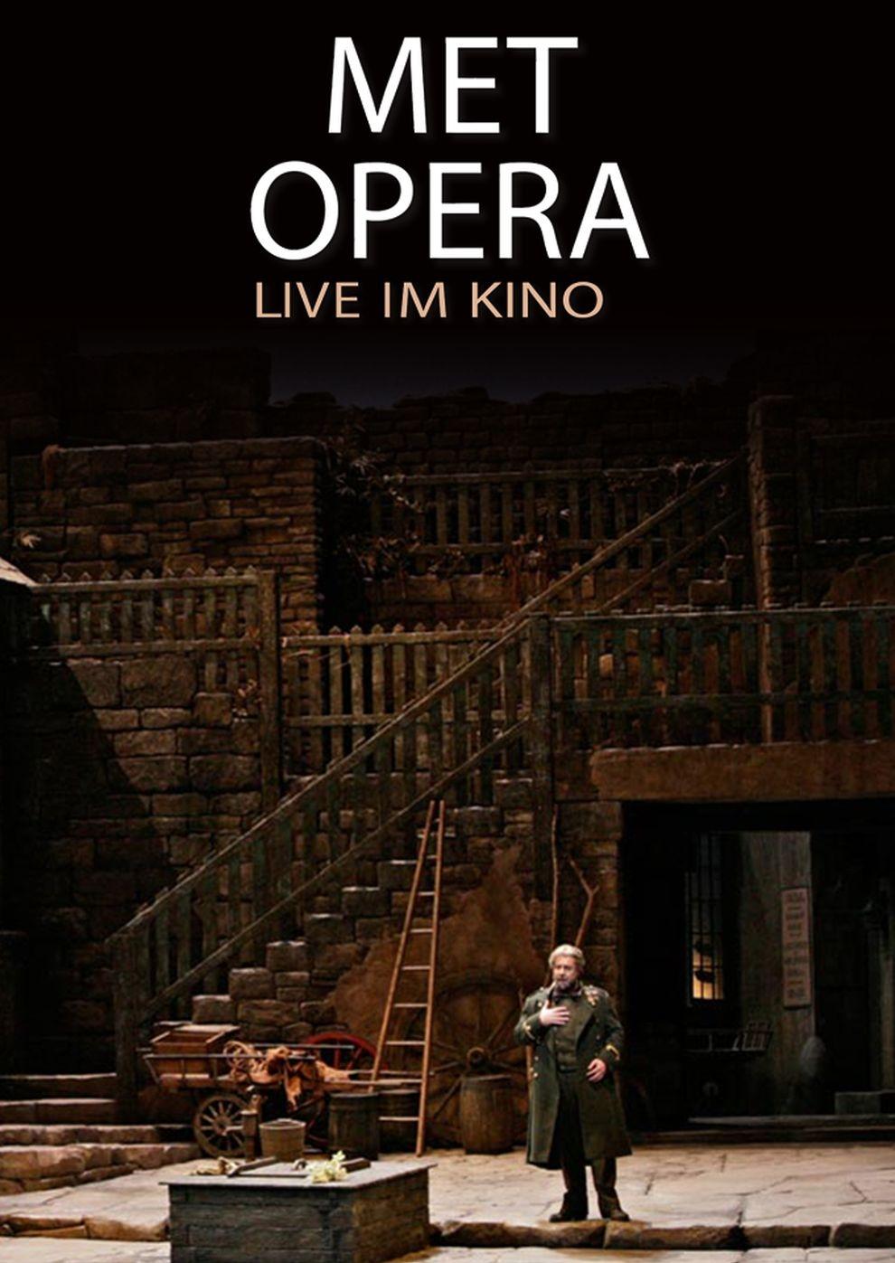 Met Opera 2017/18: Luisa Miller (Verdi) (Poster)